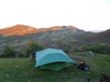 Stunning wild camp