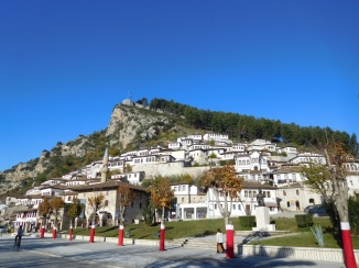 Berat - aptly named the city of a thousand windows